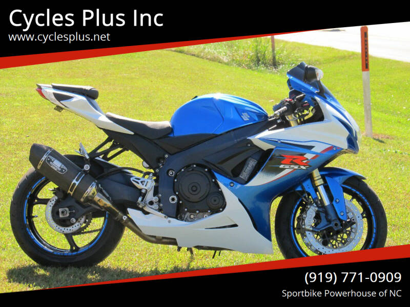2012 Suzuki GSXR 750 for sale at Cycles Plus Inc in Garner NC