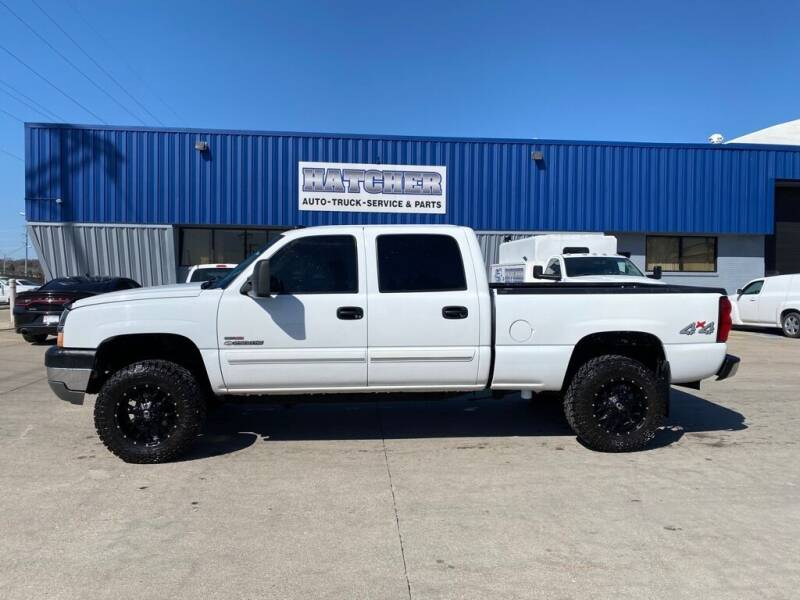 2004 Chevrolet Silverado 2500HD for sale at HATCHER MOBILE SERVICES & SALES in Omaha NE