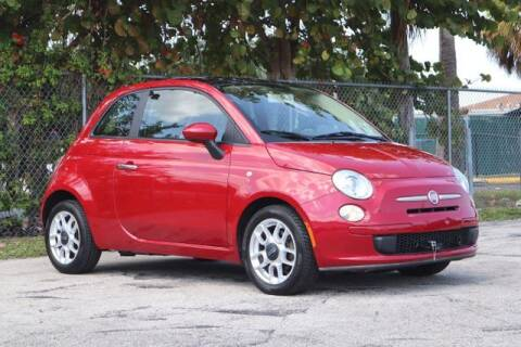 2012 FIAT 500 for sale at No 1 Auto Sales in Hollywood FL