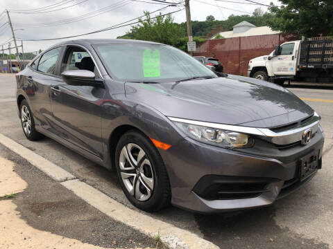 2016 Honda Civic for sale at Deleon Mich Auto Sales in Yonkers NY