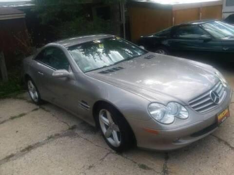 2004 Mercedes-Benz SL-Class for sale at Classic Car Deals in Cadillac MI