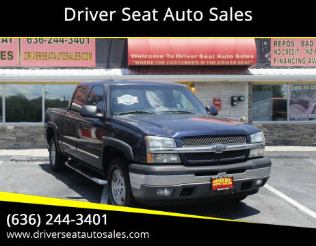 2005 Chevrolet Silverado 1500 for sale at Driver Seat Auto Sales in St. Charles MO