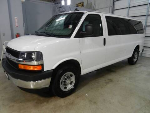 2017 Chevrolet Express Passenger for sale at ON THE MOVE INC in Boerne TX