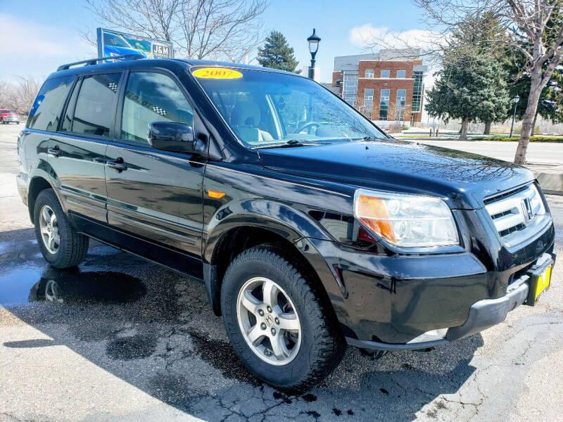 2007 Honda Pilot for sale at J & M PRECISION AUTOMOTIVE, INC in Fort Collins CO