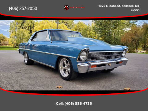 1967 Chevrolet Nova for sale at Auto Solutions in Kalispell MT