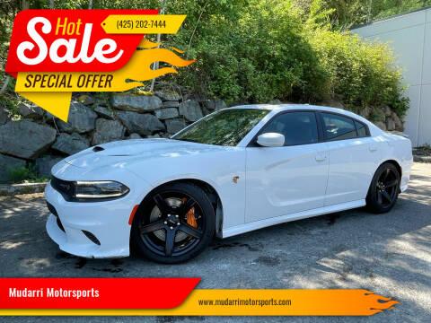 2018 Dodge Charger for sale at Mudarri Motorsports in Kirkland WA