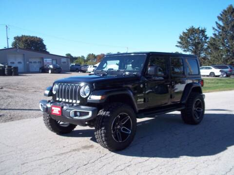 2020 Jeep Wrangler Unlimited for sale at SHULLSBURG AUTO in Shullsburg WI