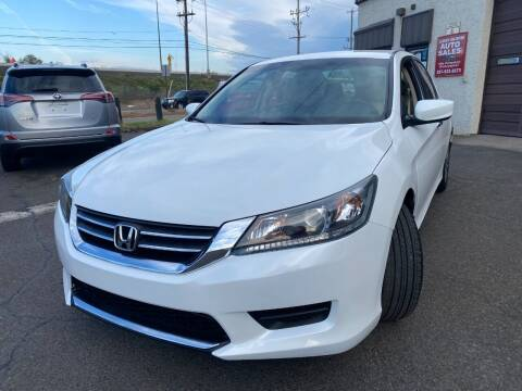 2014 Honda Accord for sale at Luxury Unlimited Auto Sales Inc. in Trevose PA
