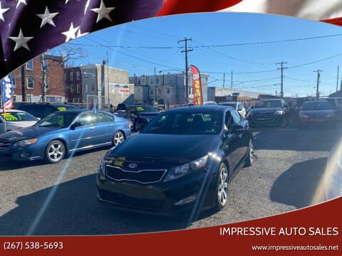 2012 Kia Optima for sale at Impressive Auto Sales in Philadelphia PA