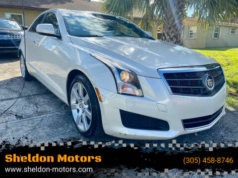 2014 Cadillac ATS for sale at Sheldon Motors in Tampa FL