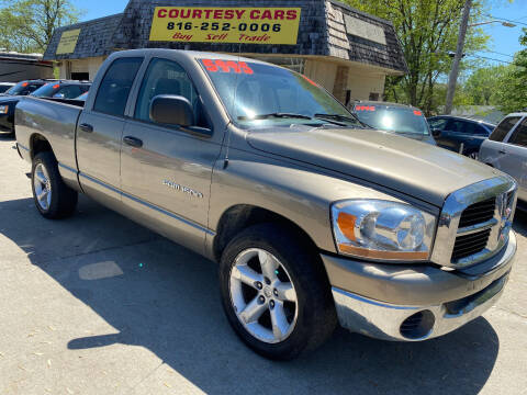 2006 Dodge Ram Pickup 1500 for sale at Courtesy Cars in Independence MO
