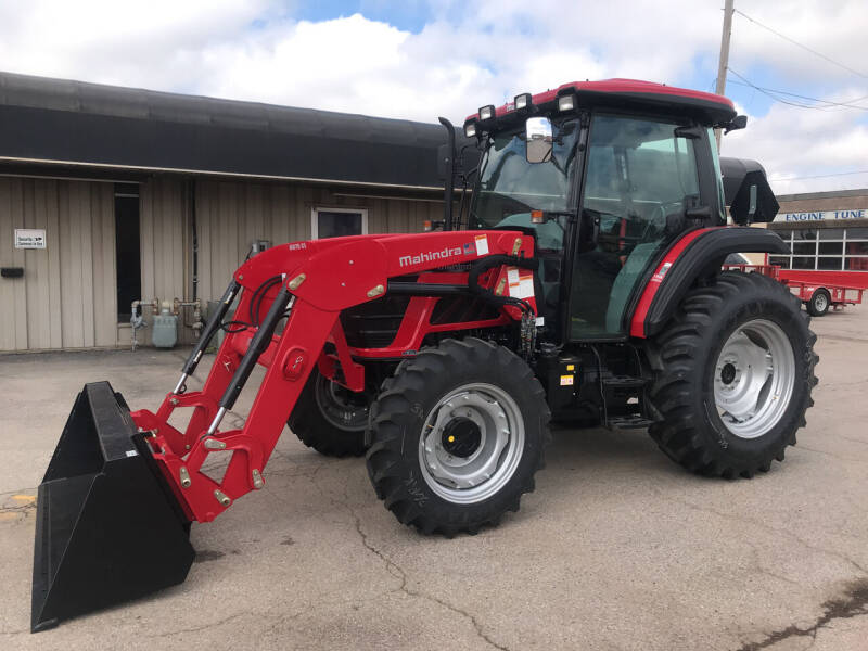 2021 Mahindra 6075 PST Cab with Loader for sale at NORRIS AUTO SALES in Oklahoma City OK
