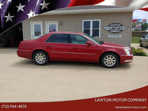 2011 Cadillac DTS for sale at Lawton Motor Company in Lawton IA