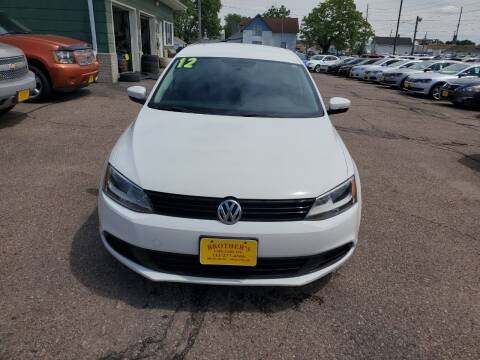 2012 Volkswagen Jetta for sale at Brothers Used Cars Inc in Sioux City IA