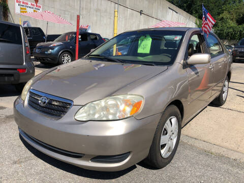 2005 Toyota Corolla for sale at Deleon Mich Auto Sales in Yonkers NY