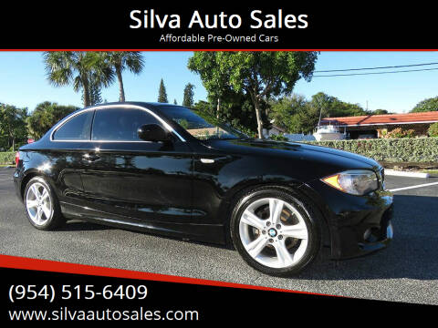 2012 BMW 1 Series for sale at Silva Auto Sales in Pompano Beach FL