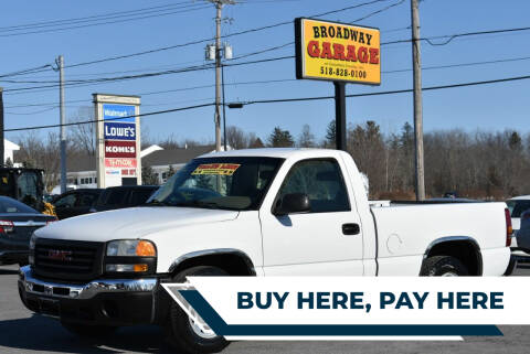 2003 GMC Sierra 1500 for sale at Broadway Garage of Columbia County Inc. in Hudson NY