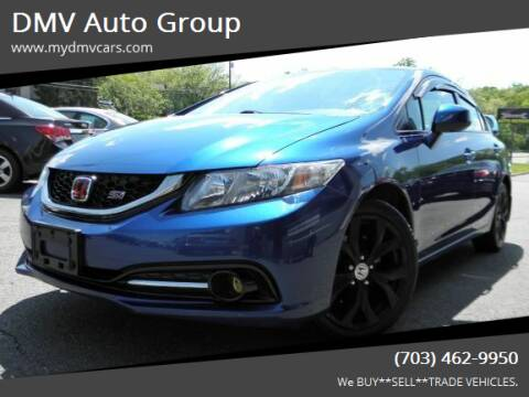 2013 Honda Civic for sale at DMV Auto Group in Falls Church VA