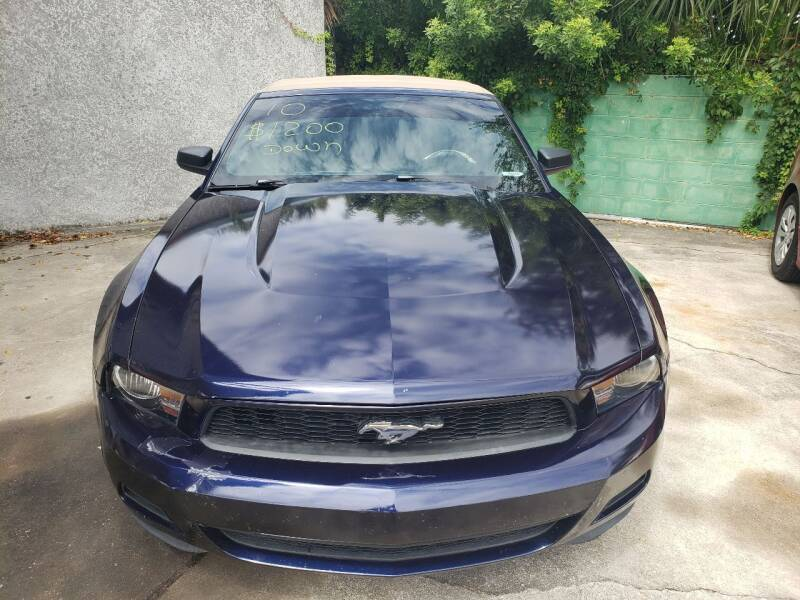 2010 Ford Mustang for sale at Track One Auto Sales in Orlando FL
