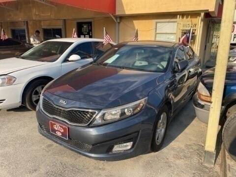 2015 Kia Optima for sale at FREDY KIA USED CARS in Houston TX