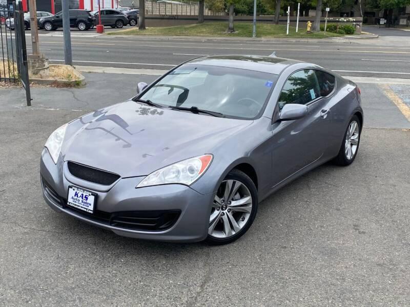2010 Hyundai Genesis Coupe for sale at KAS Auto Sales in Sacramento CA