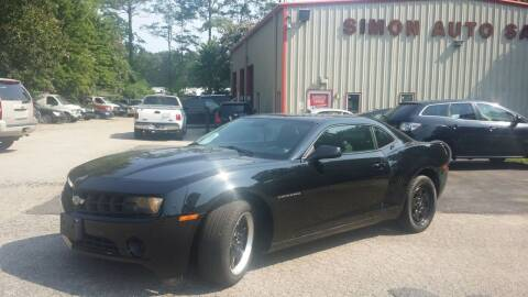 2011 Chevrolet Camaro for sale at Simon's Auto Sales in Clayton NC