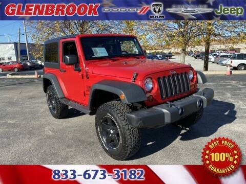 2013 Jeep Wrangler for sale at Glenbrook Dodge Chrysler Jeep Ram and Fiat in Fort Wayne IN