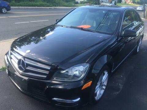 2014 Mercedes-Benz C-Class for sale at MELILLO MOTORS INC in North Haven CT