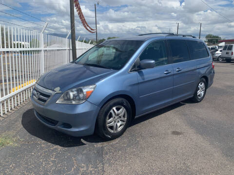 2006 Honda Odyssey for sale at Robert B Gibson Auto Sales INC in Albuquerque NM
