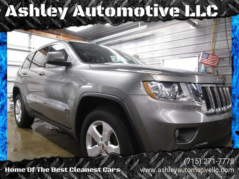 2012 Jeep Grand Cherokee for sale at Ashley Automotive LLC in Altoona WI