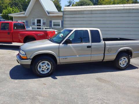 2002 Chevrolet S-10 for sale at K & P Used Cars, Inc. in Philadelphia TN