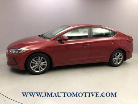 2017 Hyundai Elantra for sale at J & M Automotive in Naugatuck CT