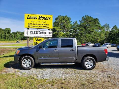2012 Nissan Titan for sale at Lewis Motors LLC in Deridder LA