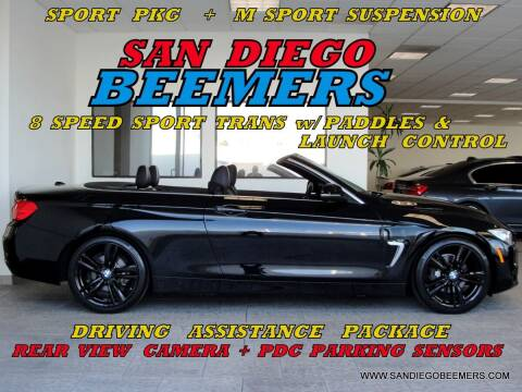 2015 BMW 4 Series for sale at SAN DIEGO BEEMERS in San Diego CA