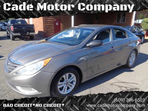 2013 Hyundai Sonata for sale at Cade Motor Company in Lawrence Township NJ