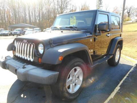 2008 Jeep Wrangler for sale at Super Sports & Imports in Jonesville NC