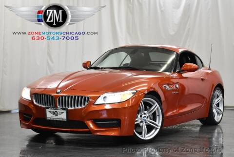 2014 BMW Z4 for sale at ZONE MOTORS in Addison IL