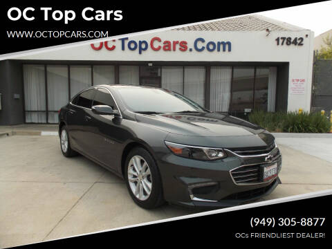 2017 Chevrolet Malibu for sale at OC Top Cars in Irvine CA