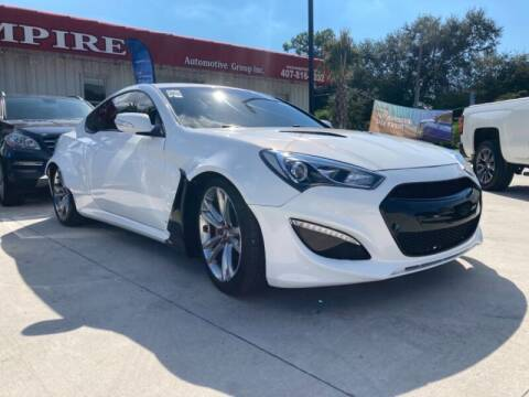 2012 Hyundai Genesis Coupe for sale at Empire Automotive Group Inc. in Orlando FL