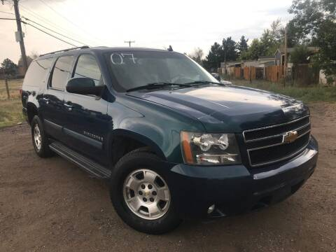 2007 Chevrolet Suburban for sale at 3-B Auto Sales in Aurora CO