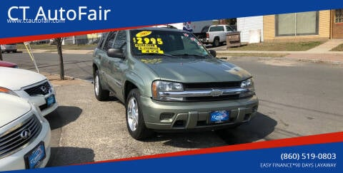 2003 Chevrolet TrailBlazer for sale at CT AutoFair in West Hartford CT