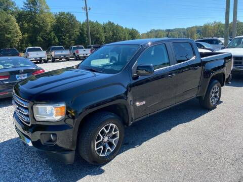 2015 GMC Canyon for sale at Billy Ballew Motorsports in Dawsonville GA
