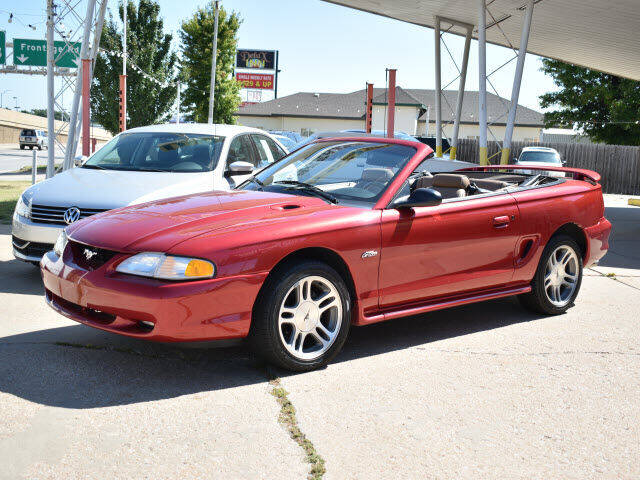 1997 Ford Mustang for sale at Dave Johnson Sales in Wichita KS