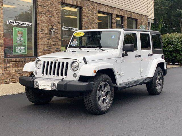 2018 Jeep Wrangler JK Unlimited for sale at The King of Credit in Clifton Park NY