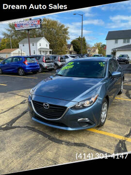 2015 Mazda MAZDA3 for sale at Dream Auto Sales in South Milwaukee WI