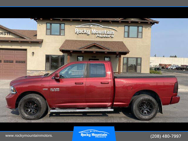 2013 RAM Ram Pickup 1500 for sale at Rocky Mountain Motors in Idaho Falls ID