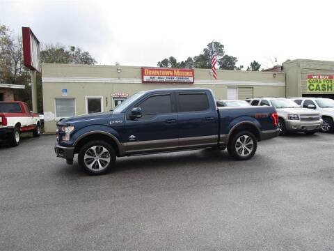 2015 Ford F-150 for sale at DERIK HARE in Milton FL