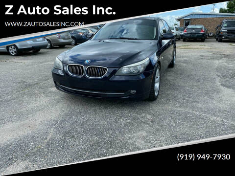 2008 BMW 5 Series for sale at Z Auto Sales Inc. in Rocky Mount NC