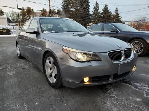 2005 BMW 5 Series for sale at MX Motors LLC in Ashland MA