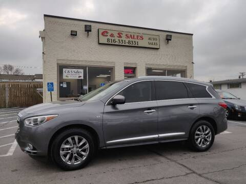 2015 Infiniti QX60 for sale at C & S SALES in Belton MO